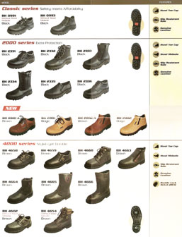 Black Hammer Safety Shoes Malaysia Price